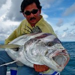 Crazy Alberto Knie and a 72 pound roosterfish