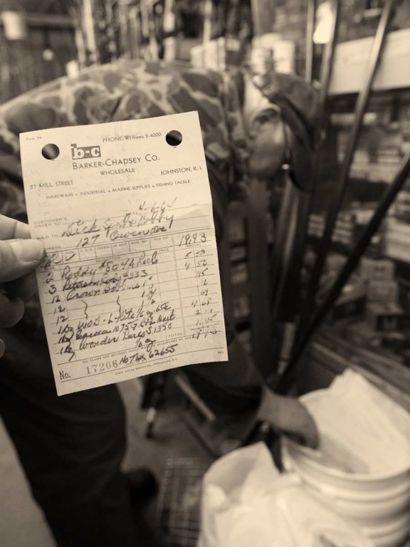 A wholesaler's invoice from the 1964